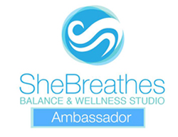 SheBreathes Ambassador Badge